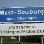 Verdwenen borden West-Souburg