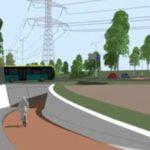 Afsluiting fietstunnel Poortersweg
